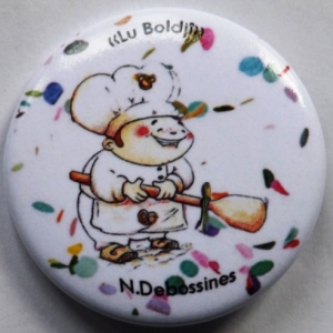 Les badges de Nathalie Debossines
