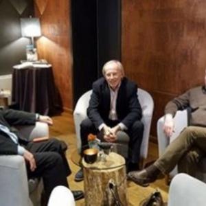 Ms Portois, M. Guy Lemaire ( RTBF ), M. Dahmen
