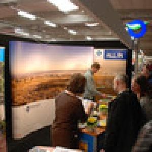 Stand de l'ATEB en collaboration avec Greenways Outdoor (Photo eastbelgium.com)