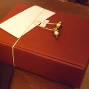 L'enveloppe et le cadeau du Lions de Cochem