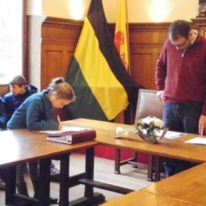 Seance de signatures
