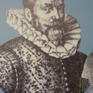 Portrait de Jean Curtius ( banquier, maitre des forges, expllitant de mines, collectionneur, mecene, industriel dans les armes ( 1551 - 1628 )
