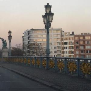 Passage sur le pont de Fragnee