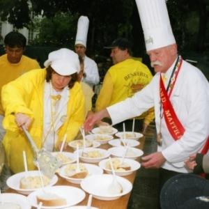 L' Omelette geante du 15 aout