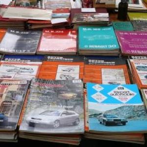 De nombreux ouvrages techniques