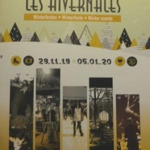La programmation des Hivernales 2019 - 2020 à Malmedy