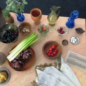 Repas a la fin du Moyen Age