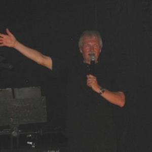 Jacky Lodomez, Vice-President et auteur des musiques, heureux de la reussite totale de la soiree festive du 130eme anniversaire du Club Wallon