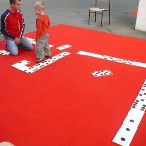 Le domino geant