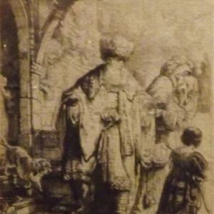 Abraham chassant Agar et Ismael ( 1637 )