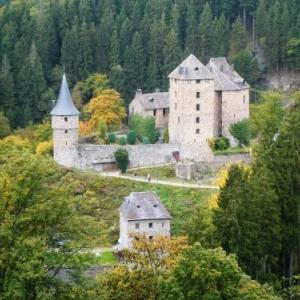 Le chateau de Reinhardstein.