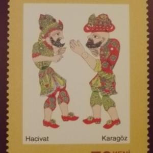 Timbres representant les deux personnages principaux