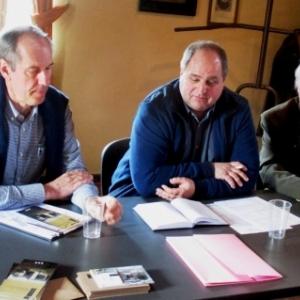 Le Conseil d'administration et Direction: Ms Rogman, Tordeur, De Fossa