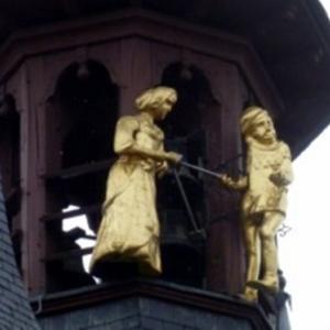 Manten et Kalle, les « Jacquemart » remplaçants de Courtrai ( Photo DR)