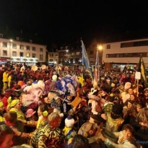 Mardi : Le brulage de la haguete