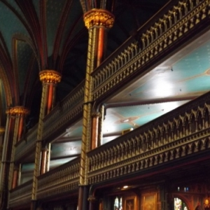 Interieur de la basilique