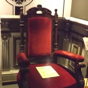 Le fauteuil de l'Empereur a Herbesthal