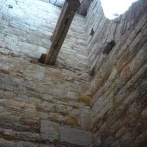 Les points d'ancrage pour la construction de la tour
