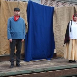 Un spectacle de marionnettes ( Tchantches et Nanesse )