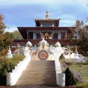 L'entree du temple