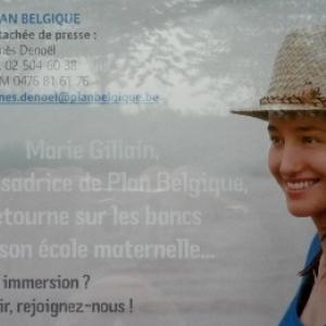 76. Marie, Anbassadrice de l'ONG Plan Belgique