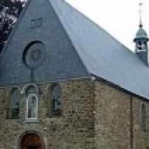 L' Eglise des Capucins decoree par la delegation de Dusseldorf