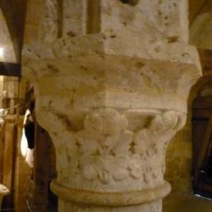 Detail de colonne du Musee de la dime