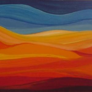 """"""" Chaos en couleur """" ( Myriam METZMACHER )"""