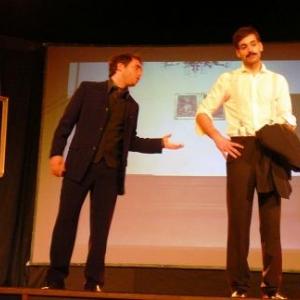 Sacha Guitry et son heros Bloompott