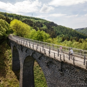 Randonnee cycliste ( Photo Eifel Tourismus )