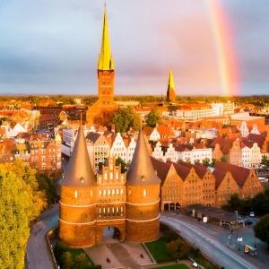 2. La ville hanséatique de Lübeck