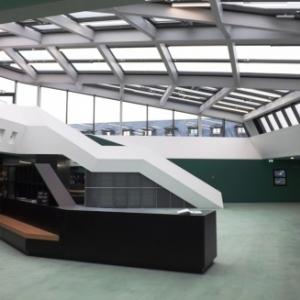 Entree du Centre des visiteurs