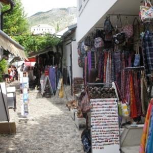 Dans les rues de Mostar
