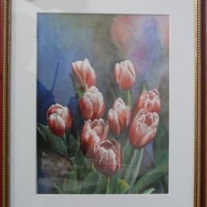 HOSTERT Odette 080 / 33 75 22 ( Aquarelle, peinture à l'huile )