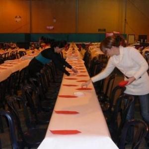 La decoration des tables