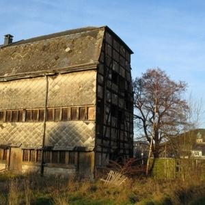 Le tannage des peaux ( dernier bâtiment authentique d'une tannerie dans la ville de Malmedy )