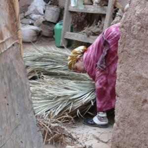 Rencontre dans la medina de Ouarzazate