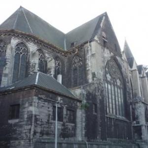 L' eglise St Barthelemy ( interdite d' acces )