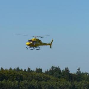 Retour de bapteme de l'air en helicoptere