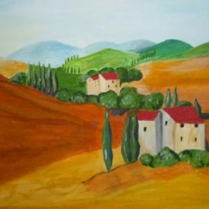 """ Reve d' Italie "" ( Nicole FRERE )"