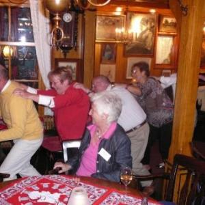 Volendam : rythmes endiables de debut de soiree