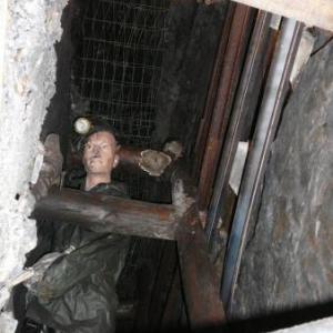 Le mineur au travail dans la veine de charbon