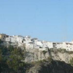 AW 020018 Sorbas : typique pour ses maisons suspendues et ses grottes de gypse