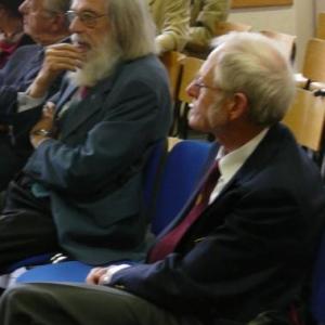 M. MOOR, Président du RCW et M. Guy FONTAINE ( ex-animateur wallon de la RTBF )
