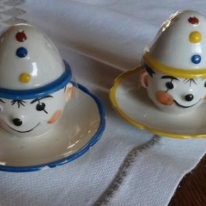 Les clowns peints a la main ( les preferes de notre collectionneur )