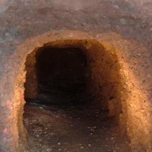 Entree de cette grotte