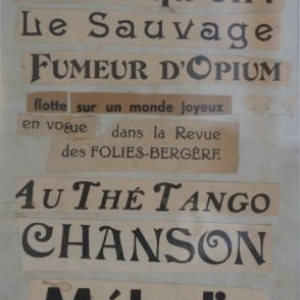 Poeme - collages