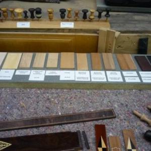 La manufacture d'orgues : eventail des bois