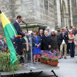 Allocution de Jean-Paul BASTIN, bourgmestre ( Photo Iwan Stenhuse )
