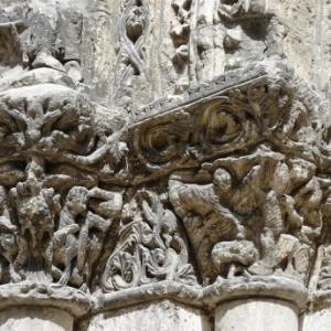 Detail de l'eglise St Pierre de Jarnac